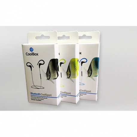 AURICULARES BT COOLBOX COOLSPORT