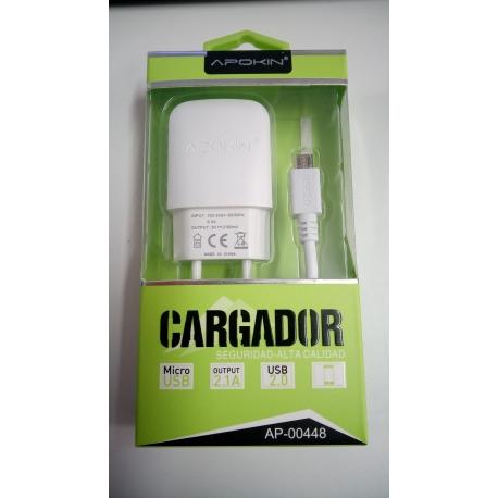 CARGADOR 2.1A TIPO C