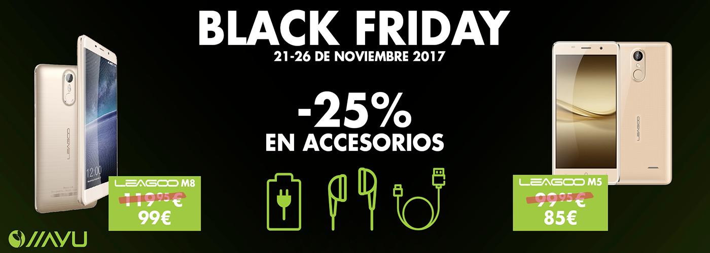 Black Friday Accesorios 25%